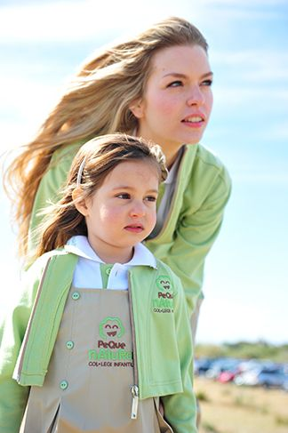 uniforme educadores modelo peque natura