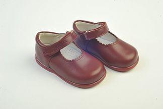 zapatos escolares merceditas con velcro