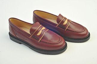 zapatos escolares modelo mocasin
