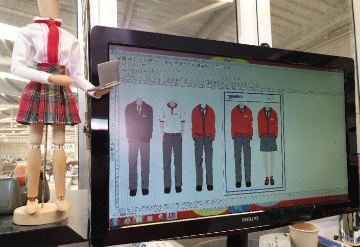 Fábrica uniformes escolares